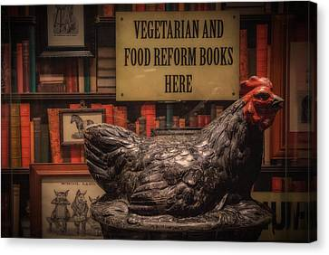 Canvas Print featuring the photograph Rooster by Tim Nichols