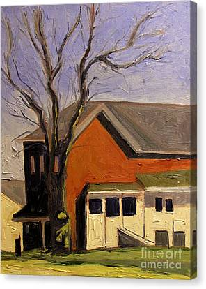 Artistic License Canvas Print - Rooster Tree At Noon by Charlie Spear