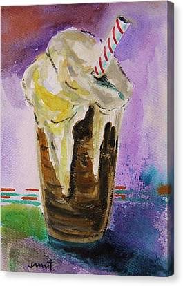 Root Beer Float Canvas Print by John Williams