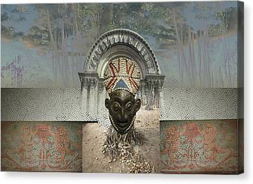 Roots Canvas Print by Fern Logan