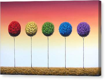 Roots Of Remembrance Canvas Print by Rachel Bingaman