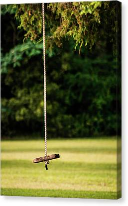 Canvas Print featuring the photograph Rope Swing  by Shelby Young