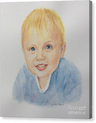 Canvas Print featuring the painting Rory by Beatrice Cloake