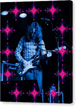 Canvas Print featuring the photograph Rory Sparkles by Ben Upham