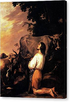 Prodigal Canvas Print - Rosa Salvator The Prodigal Son by Salvator Rosa