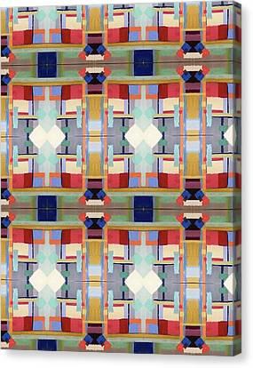 Rosalie's Fabric Canvas Print