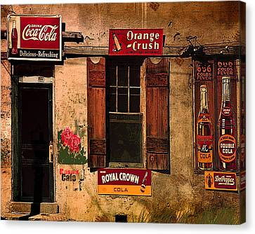 Rosas Cafe Canvas Print