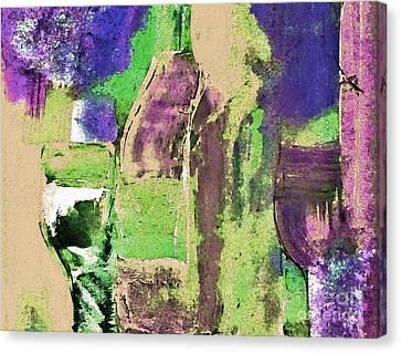 Rose Blush Pastel Canvas Print