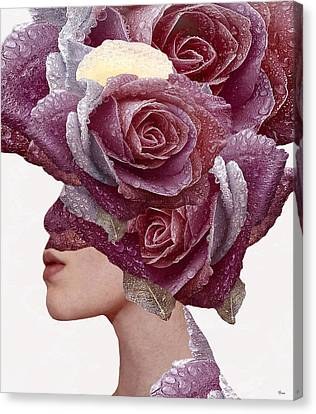 Rose Canvas Print by Bojan Jevtic