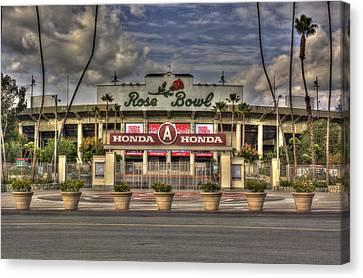 Rose Bowl Hdr Canvas Print