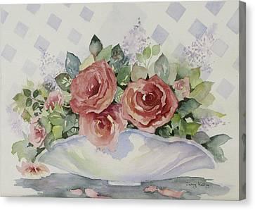 Rose Bowl Canvas Print