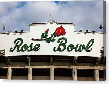 Rose Bowl Pasadena Canvas Print by Art Block Collections