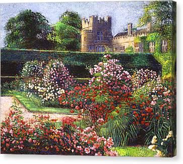 Rose Castle Canvas Print by David Lloyd Glover
