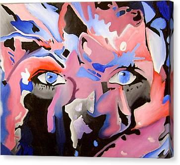 Rose Eyes Canvas Print