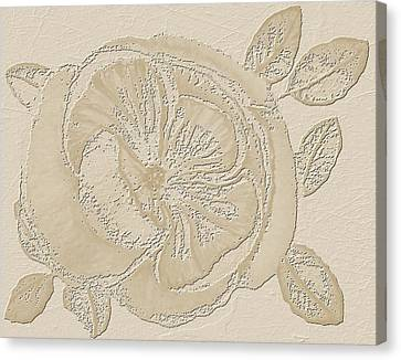 Rose Fossil Canvas Print