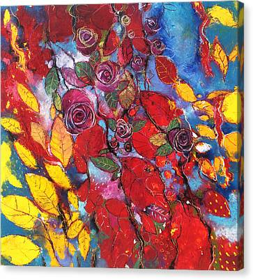 Rose Garden Canvas Print by Alessandro Andreuccetti