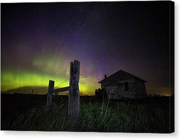 Canvas Print featuring the photograph Rose Hill by Aaron J Groen