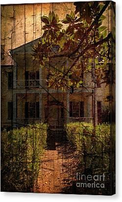 Plantation Canvas Print - Rose Hill Plantation by Bob Pardue