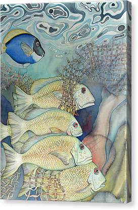 Rose Island II Canvas Print by Liduine Bekman