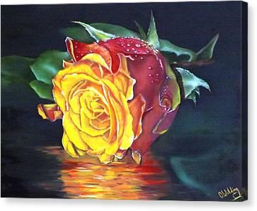 Rose Laura Canvas Print