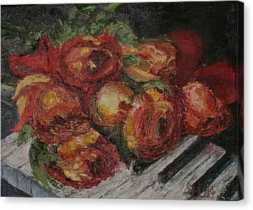 Rose Melody Canvas Print