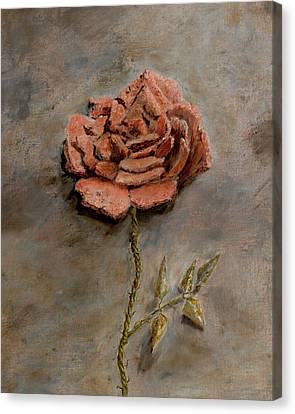 Rose Of Regeneration - Small Canvas Print