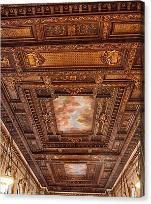 Rose Room Ceiling Canvas Print by Jessica Jenney