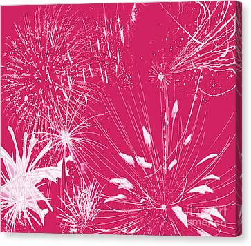 Rose Splash Canvas Print by Methune Hively