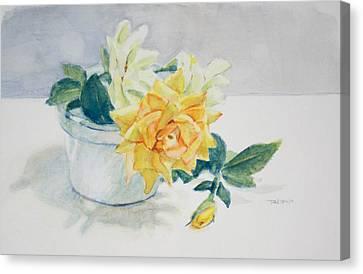 Rose Canvas Print - Rose Still Life by Christopher Reid