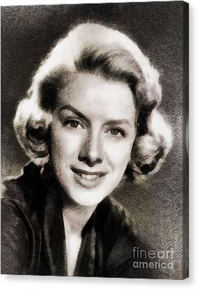 Clooney Canvas Print - Rosemary Clooney, Music Legend by John Springfield