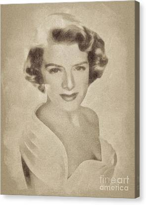 Clooney Canvas Print - Rosemary Clooney, Singer And Actress By John Springfield by John Springfield