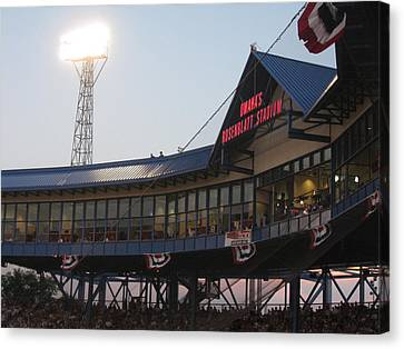 Rosenblatt Stadium Canvas Print