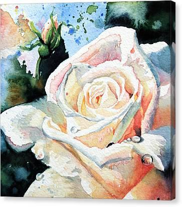 Roses 6 Canvas Print by Hanne Lore Koehler