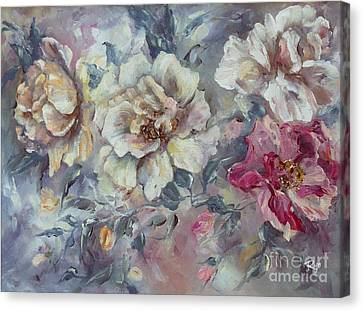 Roses From A Friend Canvas Print