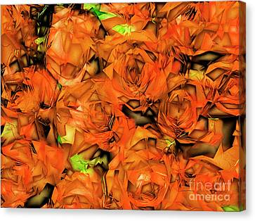 Canvas Print featuring the photograph Roses In Abstract 20170325 by Wingsdomain Art and Photography