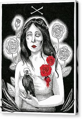 Roses Canvas Print by Maria Volkova