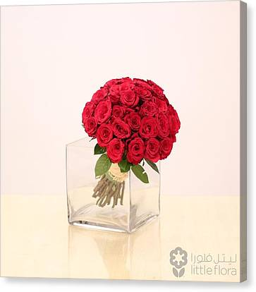 Roses Online Canvas Print by Aarti