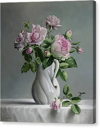 Roses Canvas Print by Pieter Wagemans