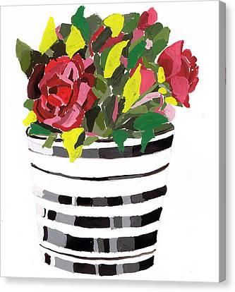 Roses Canvas Print by Zara GDezfuli