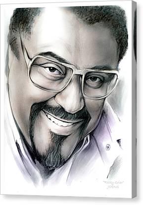 Rosey Grier Canvas Print by Greg Joens