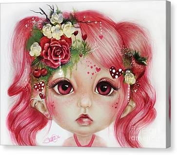 Rosie Valentine - Munchkinz Collection  Canvas Print by Sheena Pike