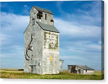 Ross Fork Grain Elevator Canvas Print