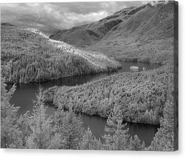 Ross Lake Ir 0503 Canvas Print
