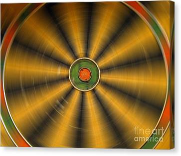 Rotating Dartboard Canvas Print
