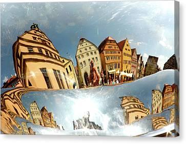 Canvas Print featuring the photograph Rotenburg In A Tuba by KG Thienemann