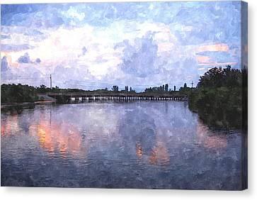 Rotonda River Roriwc Canvas Print