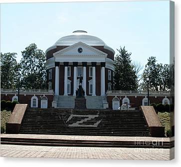 Rotunda   University Of  Virginia Canvas Print