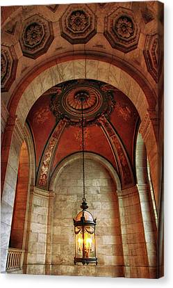Rotunda Ceiling Canvas Print by Jessica Jenney