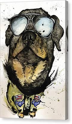 Rotweiler Canvas Print by Mark M  Mellon