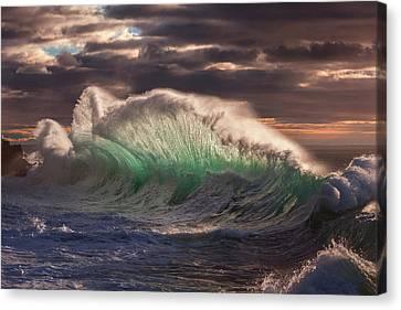 Rough Sea 12 Canvas Print